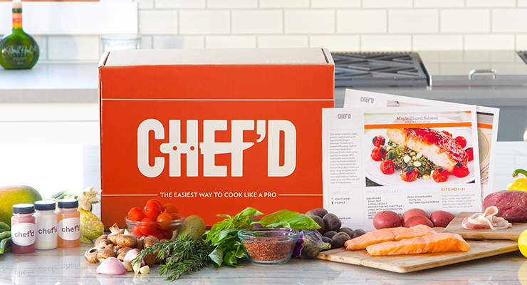 Chef'd Website